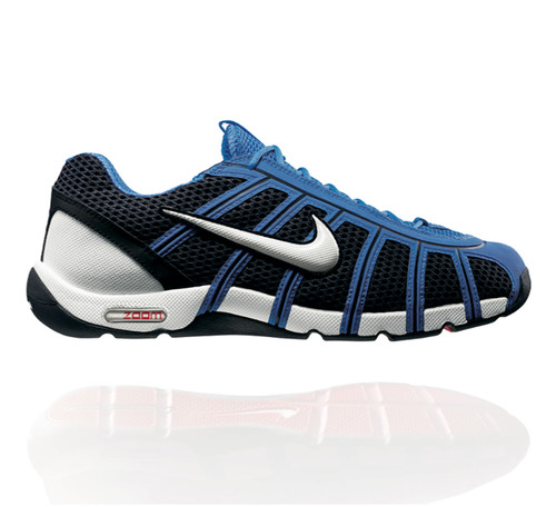 new products f7760 138ba Nike Air Zoom Fencer Obsidian  White  Light Blue