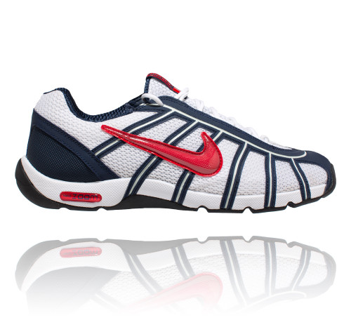 uk availability 999eb 50ef2 Nike Air Zoom Fencer White   Navy   Red