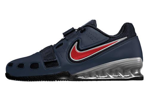 Nike Women s Romaleos 2 Weightlifting Shoes - Black   Silver da382d8eb64e