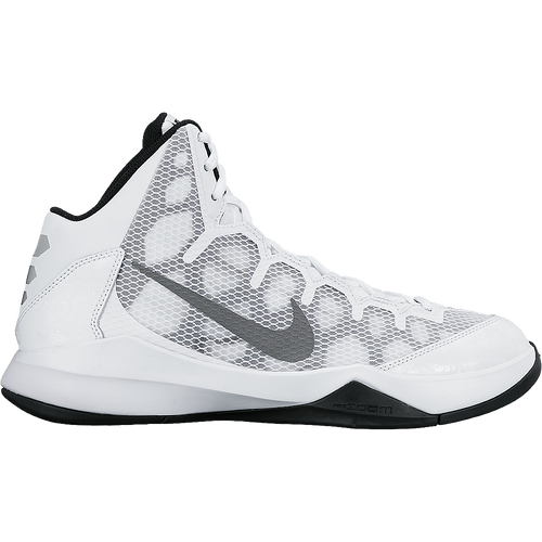 2d3bc6f1a39f Nike Men s Zoom Without A Doubt - White Metallic Silver Black
