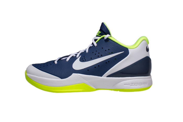 Nike White Attack Zoom Shoes Volt Navy Hyper Air Midnight Volleyball qr7SRq6