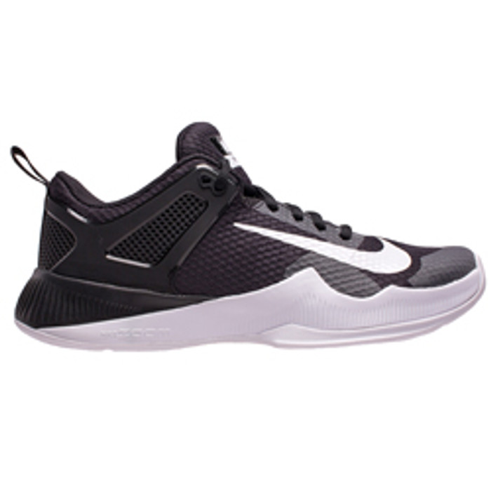 4cee72222540b Nike Women s Air Zoom Hyperace Volleyball Shoe - Black White ...