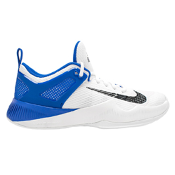 426cf05df997 Nike Women s Air Zoom Hyperace Volleyball Shoe - White Black Game Royal