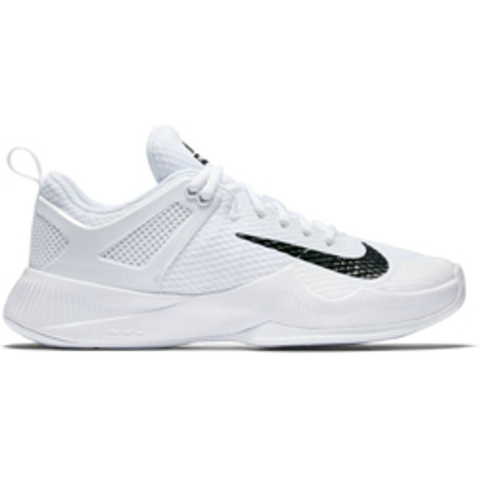 efc3b39621b1 Nike Women s Air Zoom Hyperace Volleyball Shoe - White Black ...