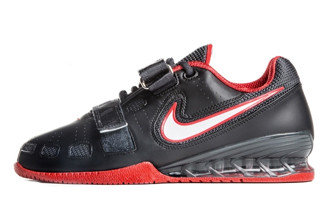 voltaje Enfermedad infecciosa carrete  Nike Romaleos 2 Weightlifting Shoes Black / Red