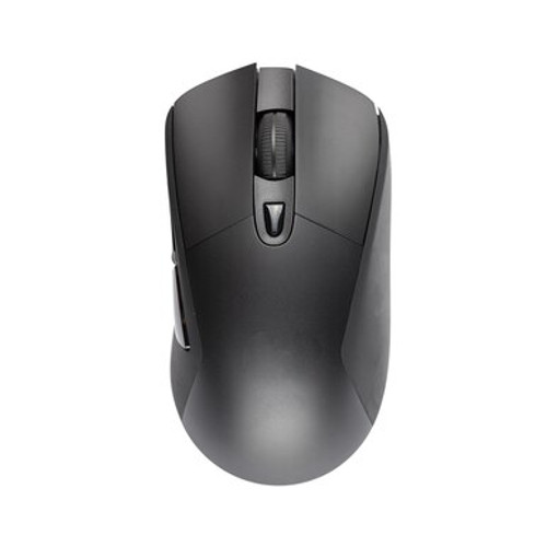 Black Wireless Optical Scroll Mouse