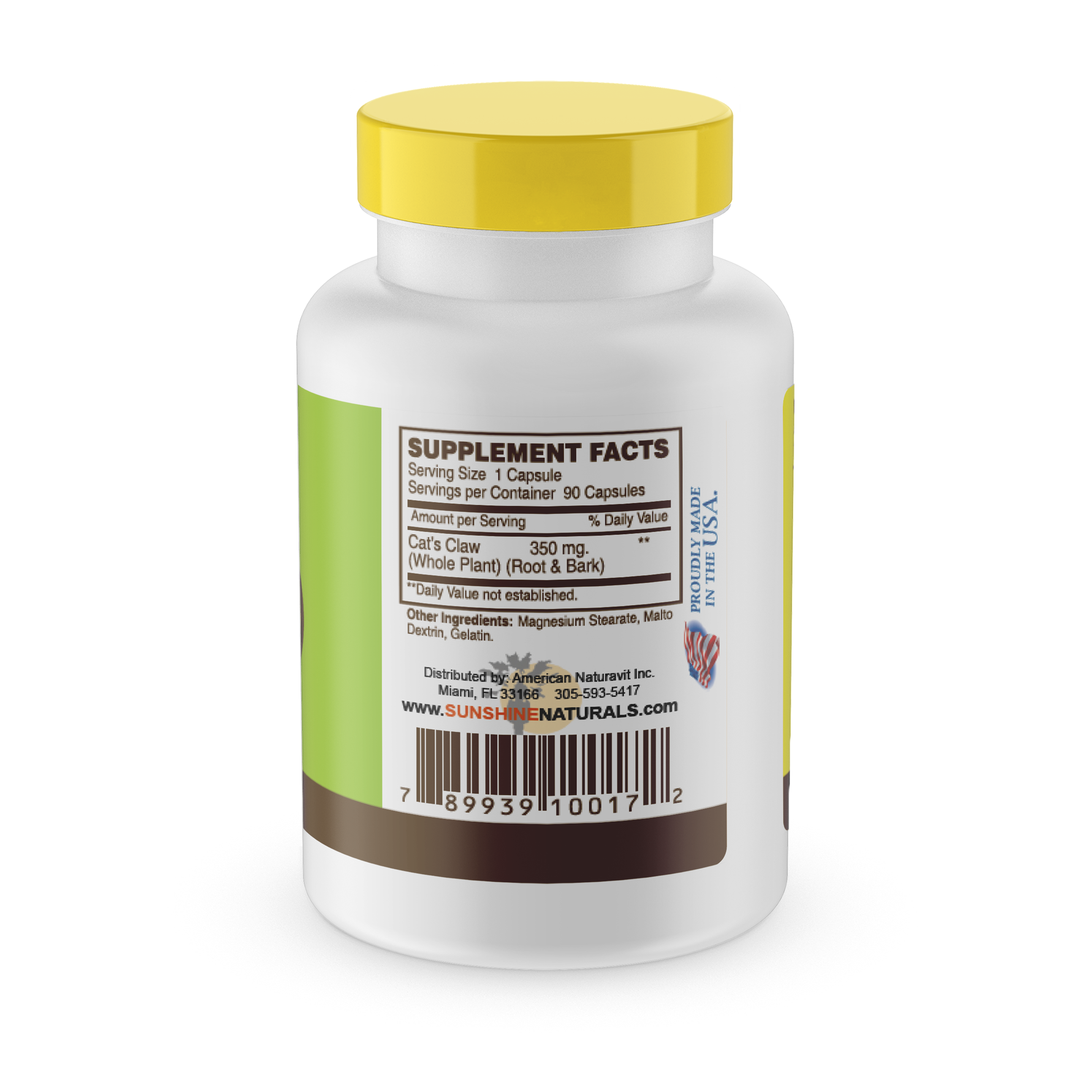 Cats Claw Root 350mg 60 Capsules