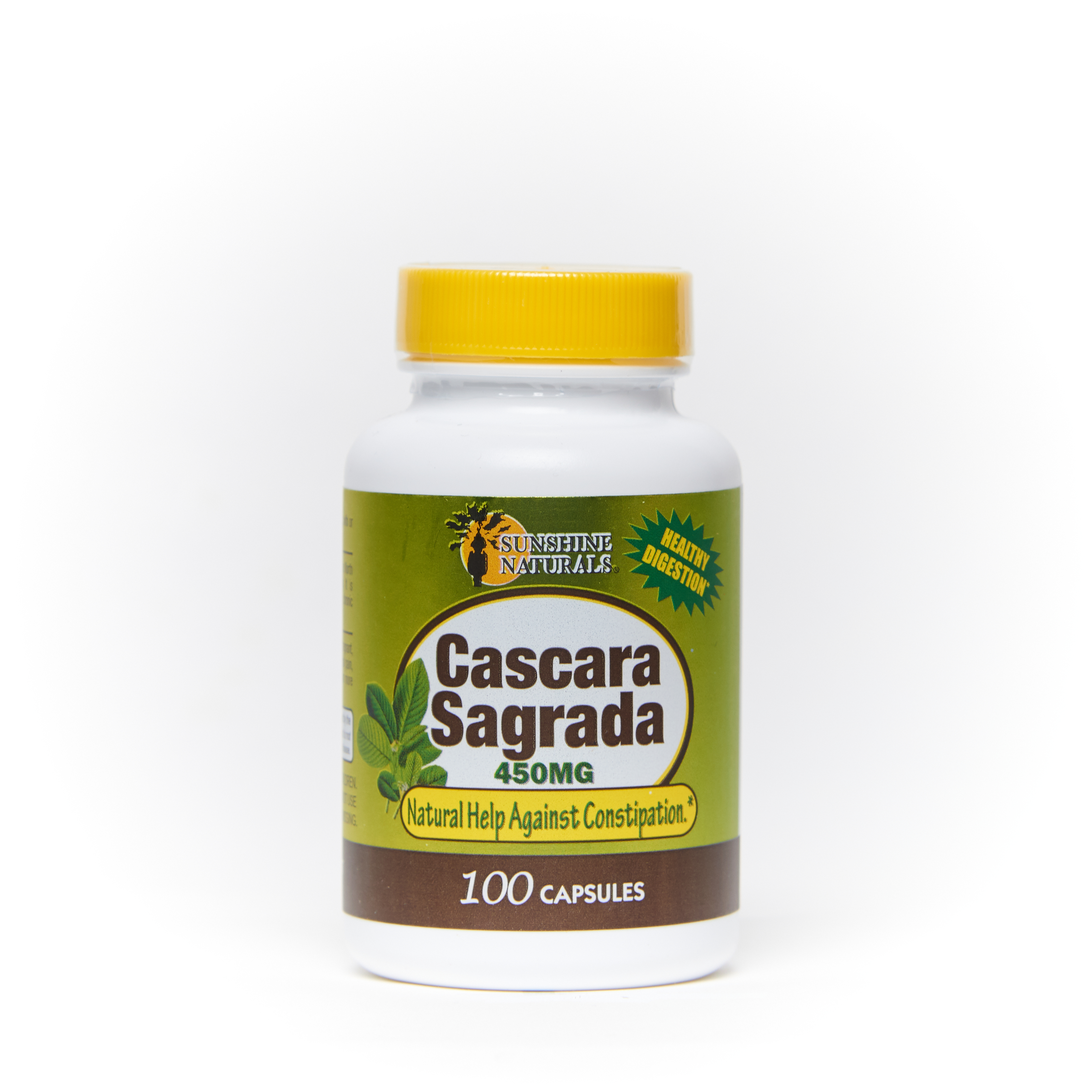 Cascara Sagrada 450mg 100 Capsules