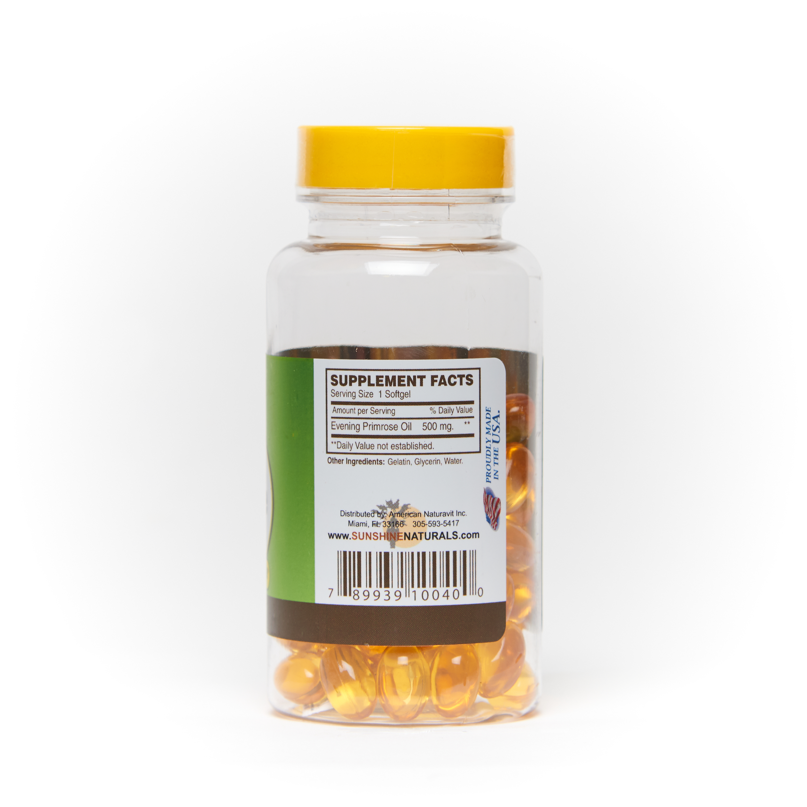 Evening Primrose Oil 60 sofgels