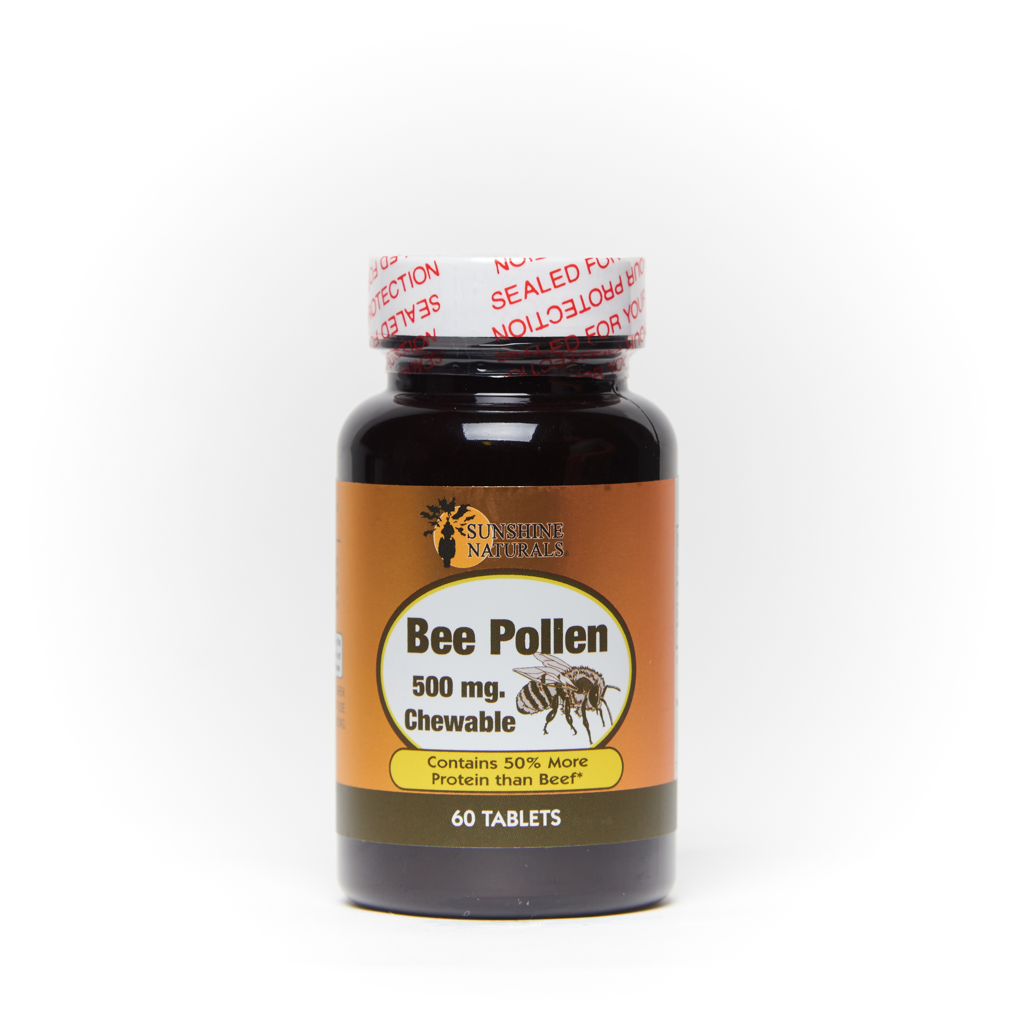 Bee Pollen 60 chewable tablets
