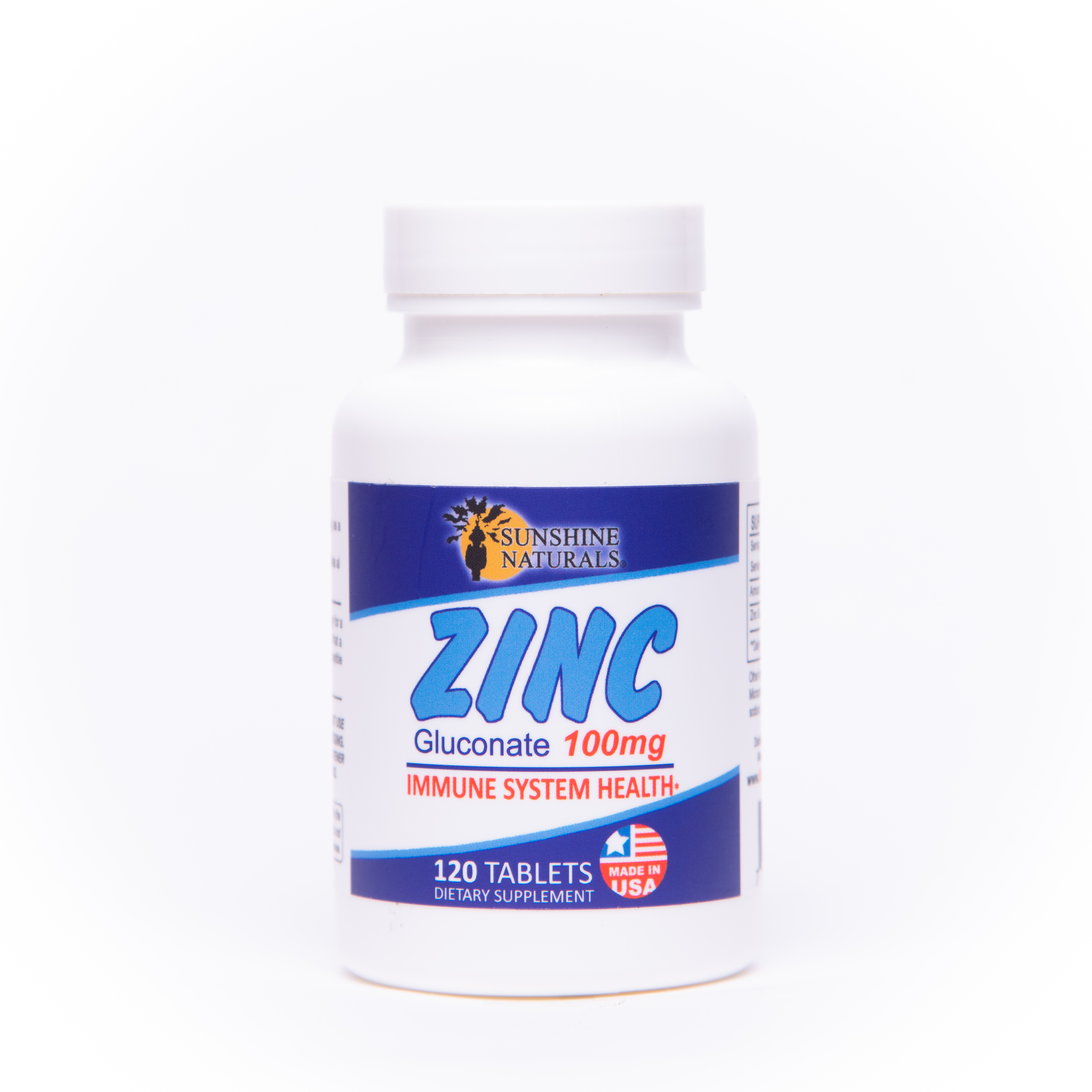 Zinc Gluconate 100mg 120 Tablets