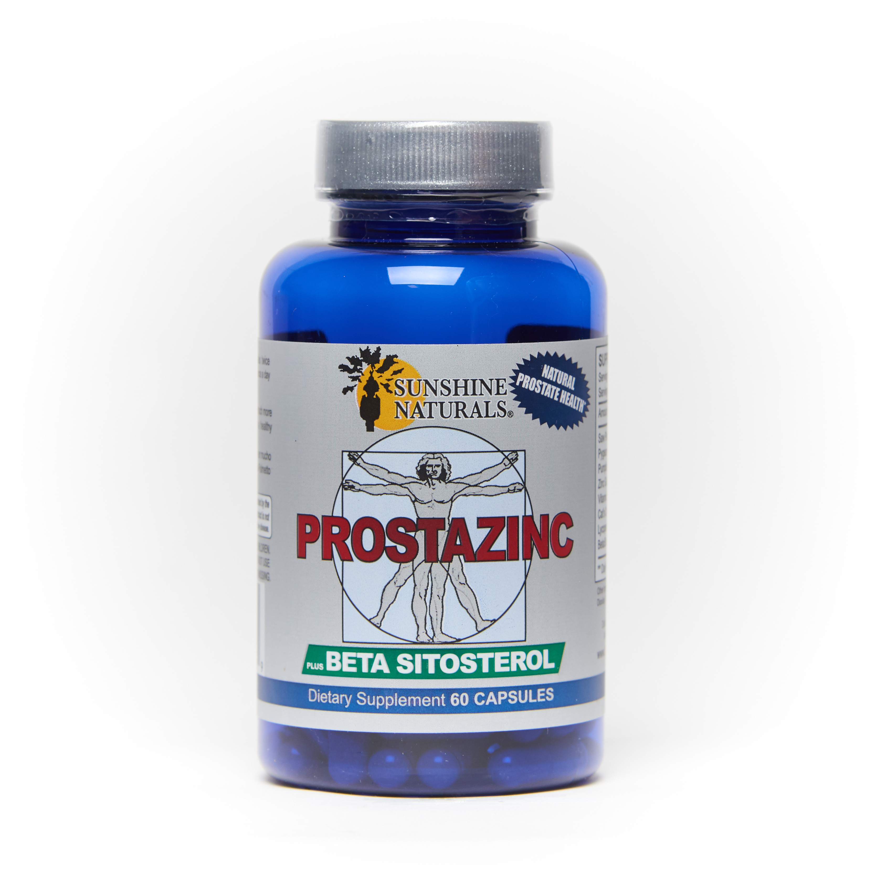 Prostazinc with Betasitosterol 60 Capsules