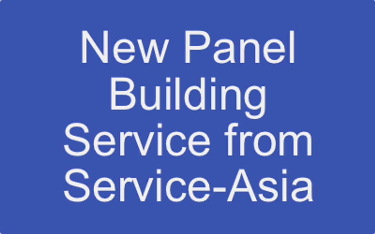 New Service From Service-Asia - Modular Panel Building and Wiring