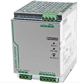 PHOENIX CONTACT QUINT-PS/1AC/24DC/20 (2866776) QUINT POWER SUPPLY FOR DIN RAIL MOUNTING