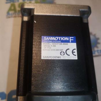 SANYO DENKI STEPPING MOTOR 103-H7126-6640 Flange size 56 mm.