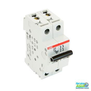 ABB S202-C6 Circuit Breaker 2CDS252001R0064