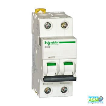 SCHNEIDER ELECTRIC IC65N-2P-D4A (A9F19204) Vacuum Mini Circuit Breaker MCB