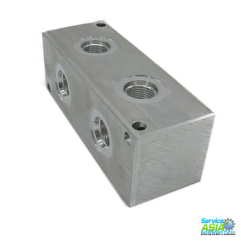 DAMAN PRODUCTS  AJ2700208S ALUMINIUM JUNCTION BLOCK