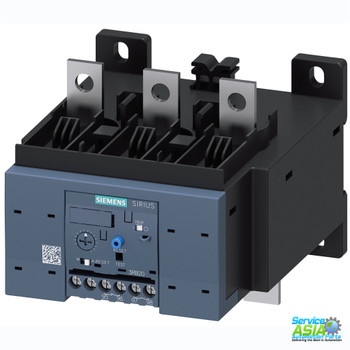 SIEMENS 3RB2056-2FC2 Overload relay 50...200 A for motor protection Size S6, Class 20E Contactor mounting/stand-alone installation Main circuit: busbar connection Auxiliary circuit: Screw terminal Manual-Automatic-Reset