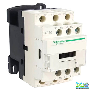 SCHNEIDER ELECTRIC TELEMECANIQUE CAD50M7 RELAY 00V 10AMP TESYS + OPTIONS
