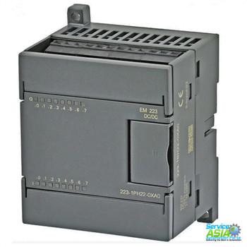 SIEMENS 6ES7223-1PH22-0XA8  SIMATIC S7-200, Digital I/O EM 223, only for S7-22X CPU, 8 DI 24 V DC, Sink/Source, 8 DO relay, 2 A/channel