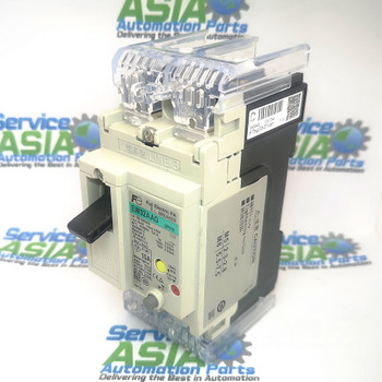 FUJI ELECTRIC EW32AAG-2P010MOLDED CASE EARTH LEAKAGE CIRCUIT BREAKER