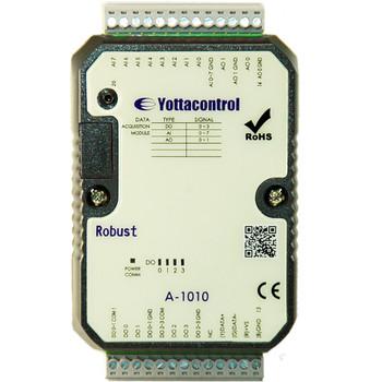YOTTACONTROL A-1010 RS485 Modbus Multifunction IO Unit - 8AI, 4DO, 2AO