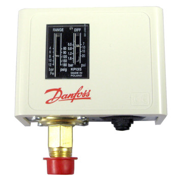 Danfoss 060-121966 (KPI35) Pressure Switch Setting range: -0.2 to 8