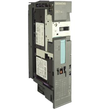 SIEMENS 3RK1301-0KB00-0AA2 DS1-X for ET 200S Standard DOL starter expandable Setting range 0.9...1.25 A AC-3, 0.37 kW / 400 V Electromechanical starter for brake control module