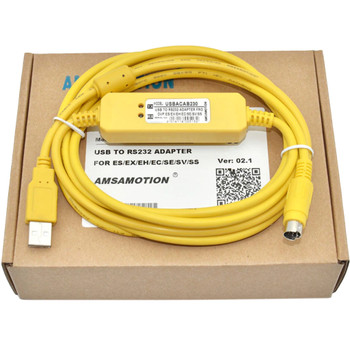 GENERIC USB-ACAB230 Programming Cable RS232 Adapter For Delta DVP PLC