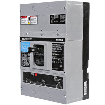 SIEMENS LXD63B500 BREAKER LXD 3P 600A 500V Sentron Series Molded Case Circuit Breaker