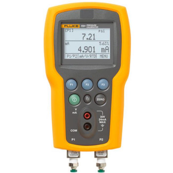 FLUKE 721-1630 Dual Sensor Pressure Calibrator, 0 to 3000 psi,  16PSIG/3000PSIG