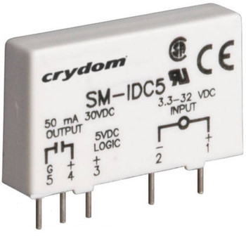 CROUZET CRYDOM SM-IDC5 I/O MODULE FOR USE WITH:CROUZET SOLID STATE RELAYS
