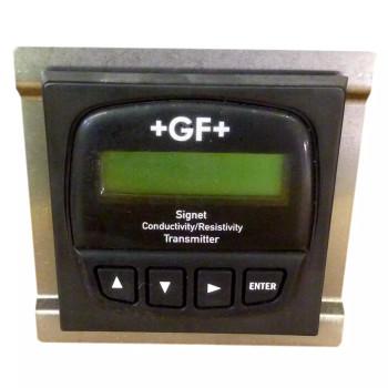 GEORG FISCHER SIGNET 3-8850-1P PANEL MOUNT CONDUCTIVITY/RESISTIVITY TRANSMITTER