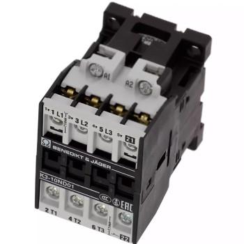 BENEDIKT & JAEGER K3-10ND01 230 CONTACT RELAY 230VAC COIL 50/60HZ