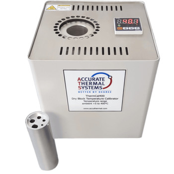 ACCURATE THERMAL SYSTEMS ThermCal 400 Dry Block Temperature Calibrator. (120V or 230V)