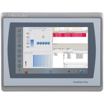 ALLEN-BRADLEY 2711P-T7C22D9P PANELVIEW PLUS 7 PERFORMANCE 7 INCH TFT COLOR OPERATOR INTERFACE