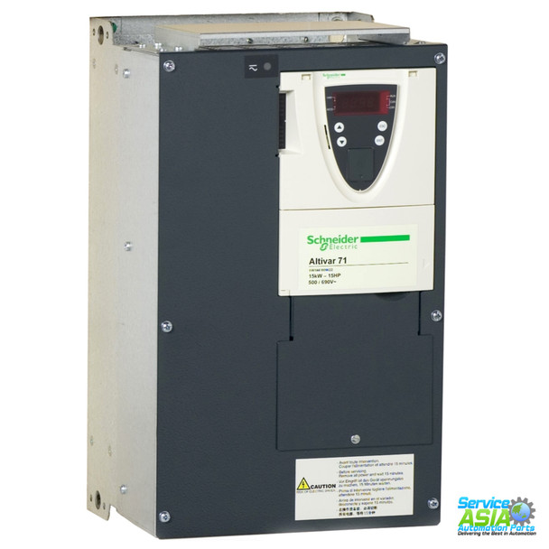 SCHNEIDER ELECTRIC SQUARE D ATV-71HD15Y ALTIVAR 71 DRIVE 15 HP 575/690 VOLT