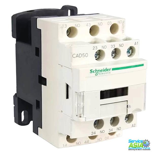 SCHNEIDER ELECTRIC TELEMECANIQUE CAD50M7 RELAY 00V 10AMP TESYS + OPTIONS