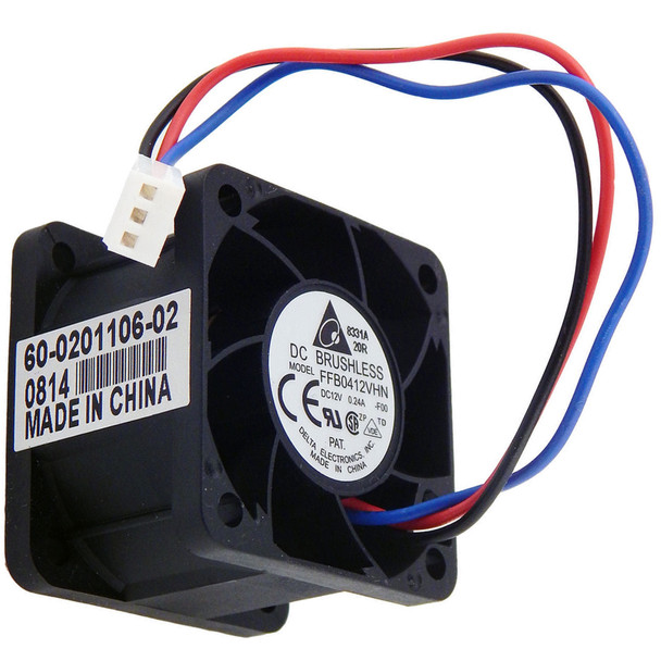 DELTA GROUP FFB0412VHN 12v DC 0.24a 40x28mm 3-Wire Fan