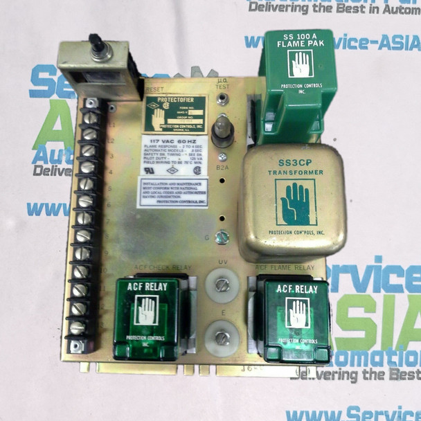Protection Controls Protectofier 6642-VB TIMING MODULE FLAME SAFETY