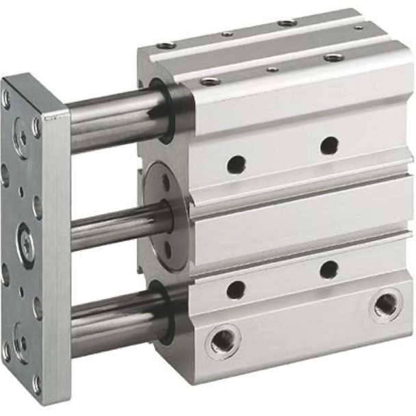 Rexroth 0822065001 Pneumatic Guided Cylinder 40mm Bore, 50mm Stroke, GPC-BV Series, Double Acting GPC-DA-040-0050-BV-SB