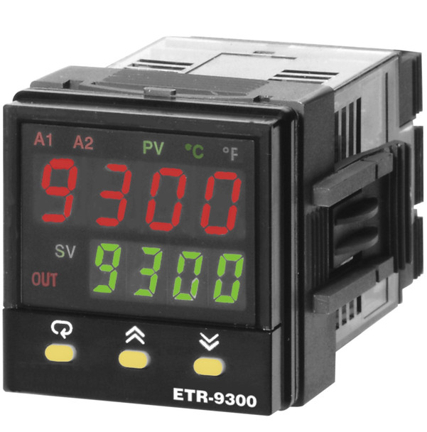 OGDEN ETR-9300-411111 DUAL DISPLAY MICROPROCESSOR BASED TEMPERATURE CONTROLLER WITH SMARTER LOGIC