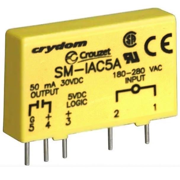 CROUZET SM-IAC5A CRYDOM SM SERIES INPUT MODULE Mini-I/O Module-Capture Screw