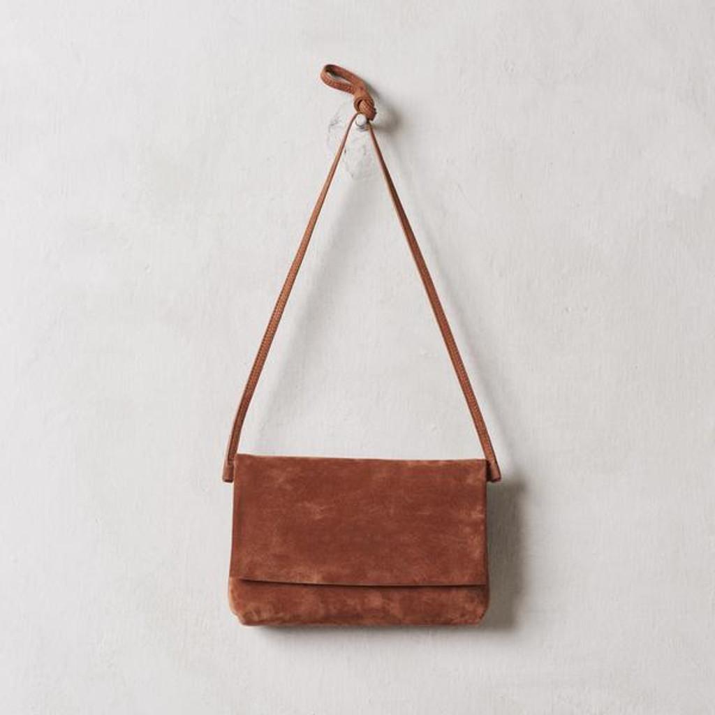 Terracotta Fold-over Bag
