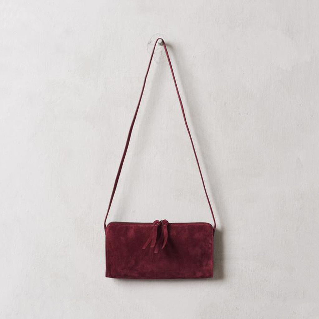 Sangria Shoulder Purse