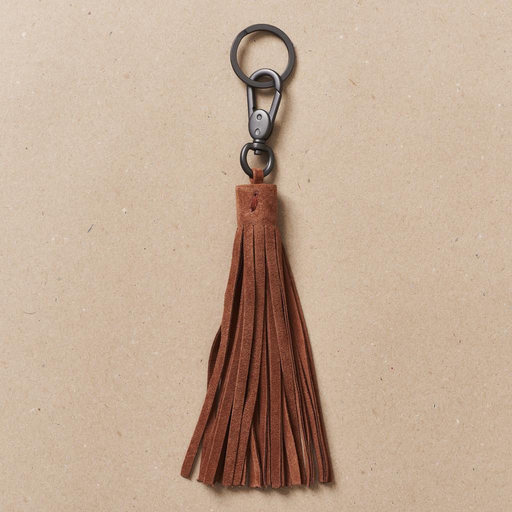 Terracotta Tassel Key Holder