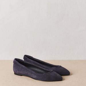 Steel Blue Pointy Ballerina