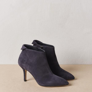 Steel Blue Ankle Boot