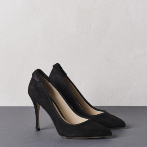 Brushed Black Buffalo Stiletto
